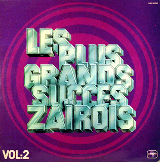Les Plus Grands Succes ZaГЇrois, vol.2 -Various Artists, Sonafric 50043, 1977