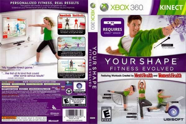 Your shape: fitness evolved 2012 box art
