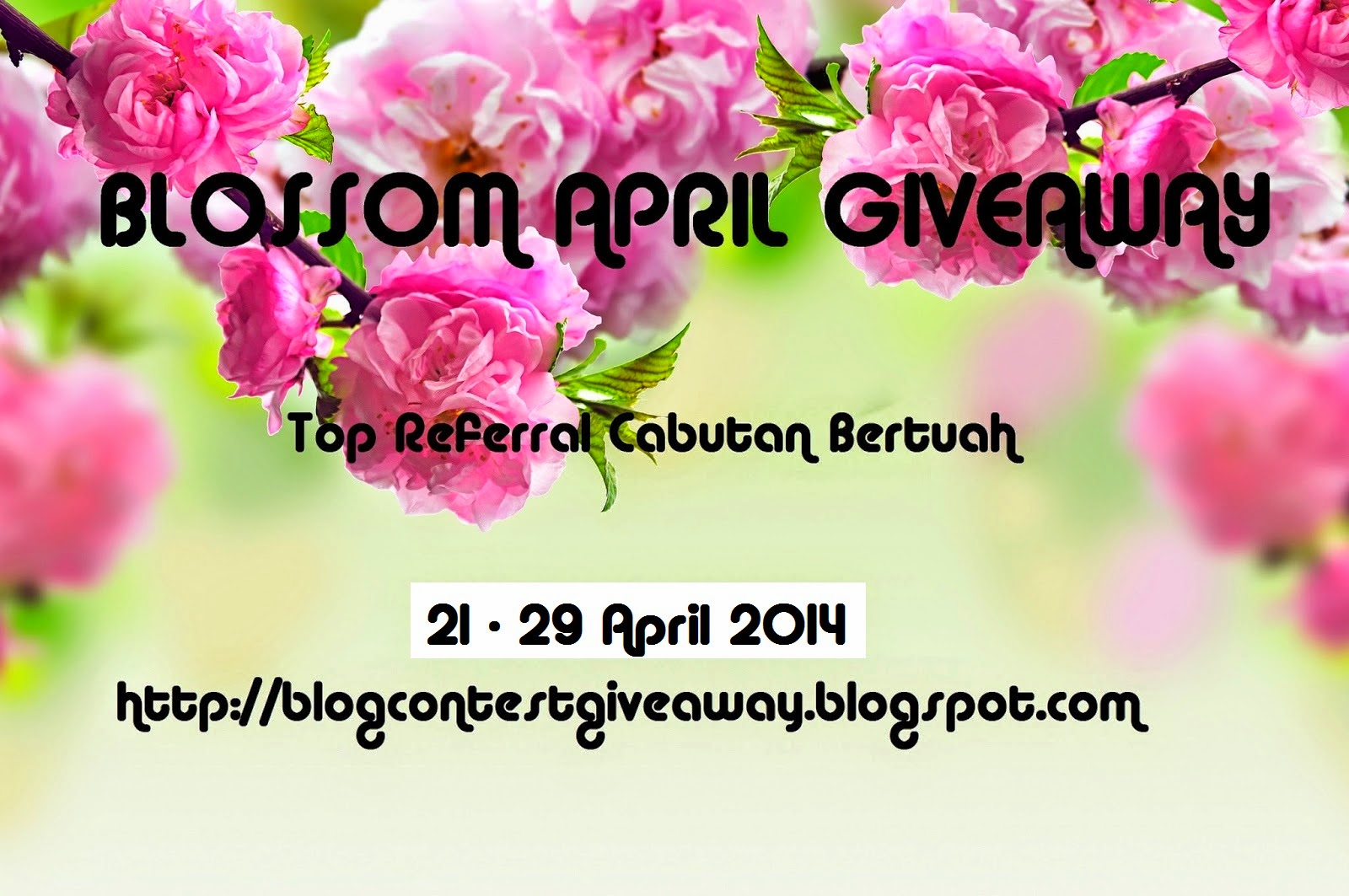 Blossom April Giveaway