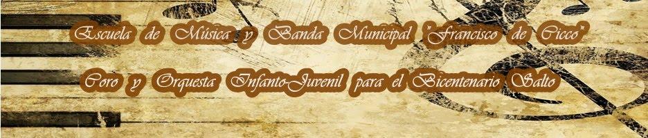 Escuela de Música, Coro y Orquesta Salto