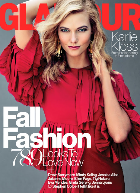 Fashion Model @ Karlie Kloss - Glamour, September 2015