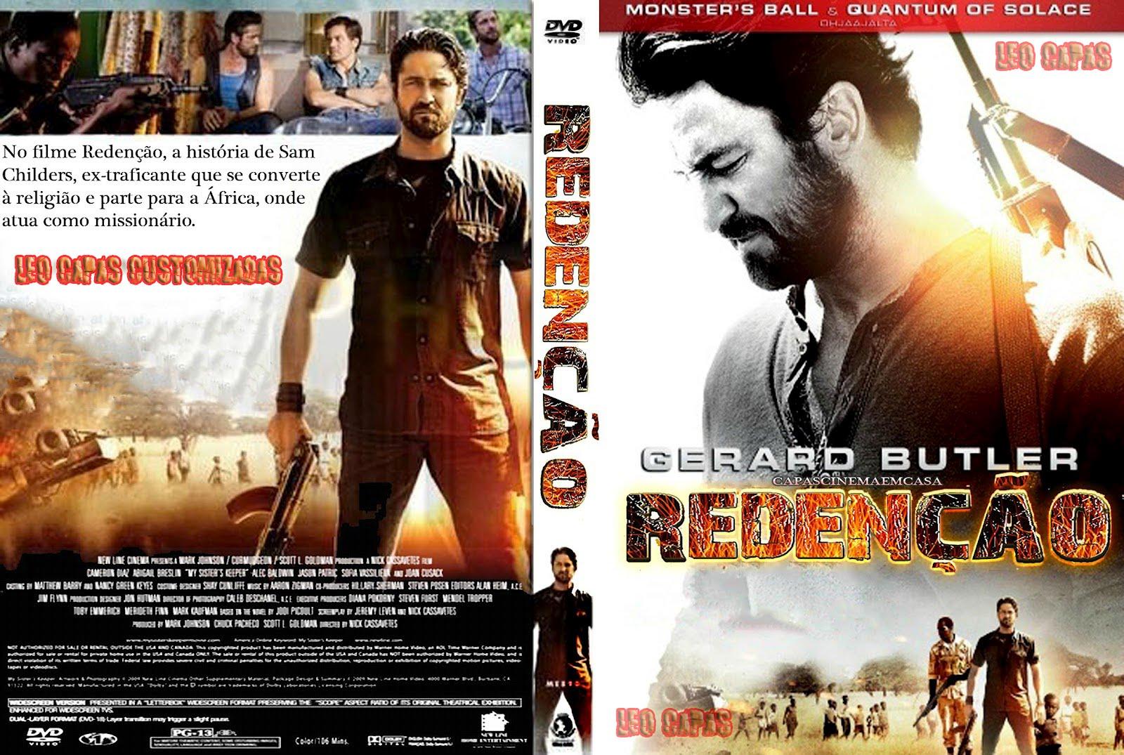 Redencao Machine Gun Preacher DVD Cover