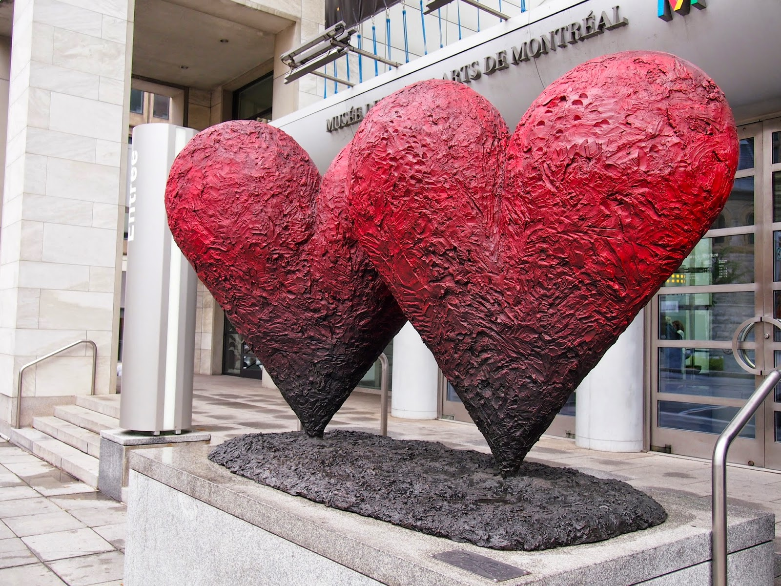 Hearts Musee des Beaux Arts Montreal