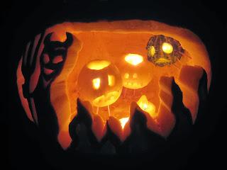Jack O' Lantern hell - phot by Logan Ingalls