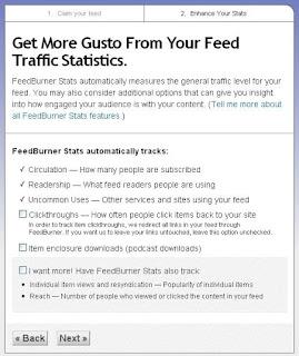Feed Traffic Statistics