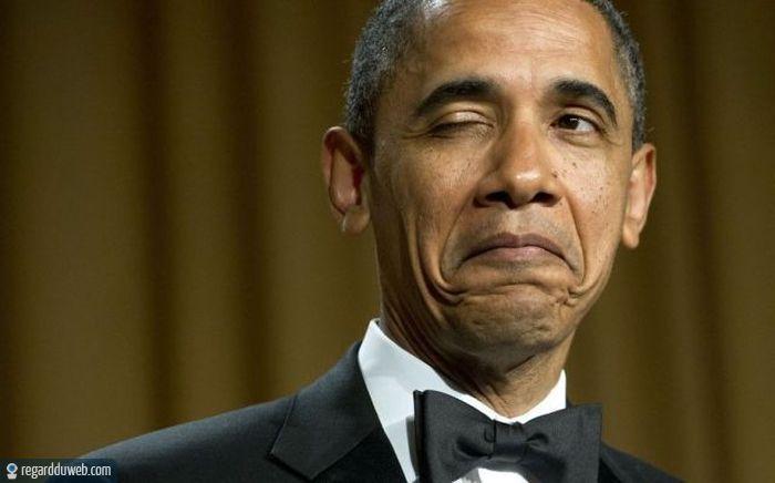 Photo Obama drole