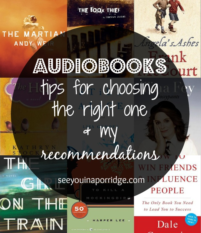 Audiobooks - tips and recommendations for choosing the right one!