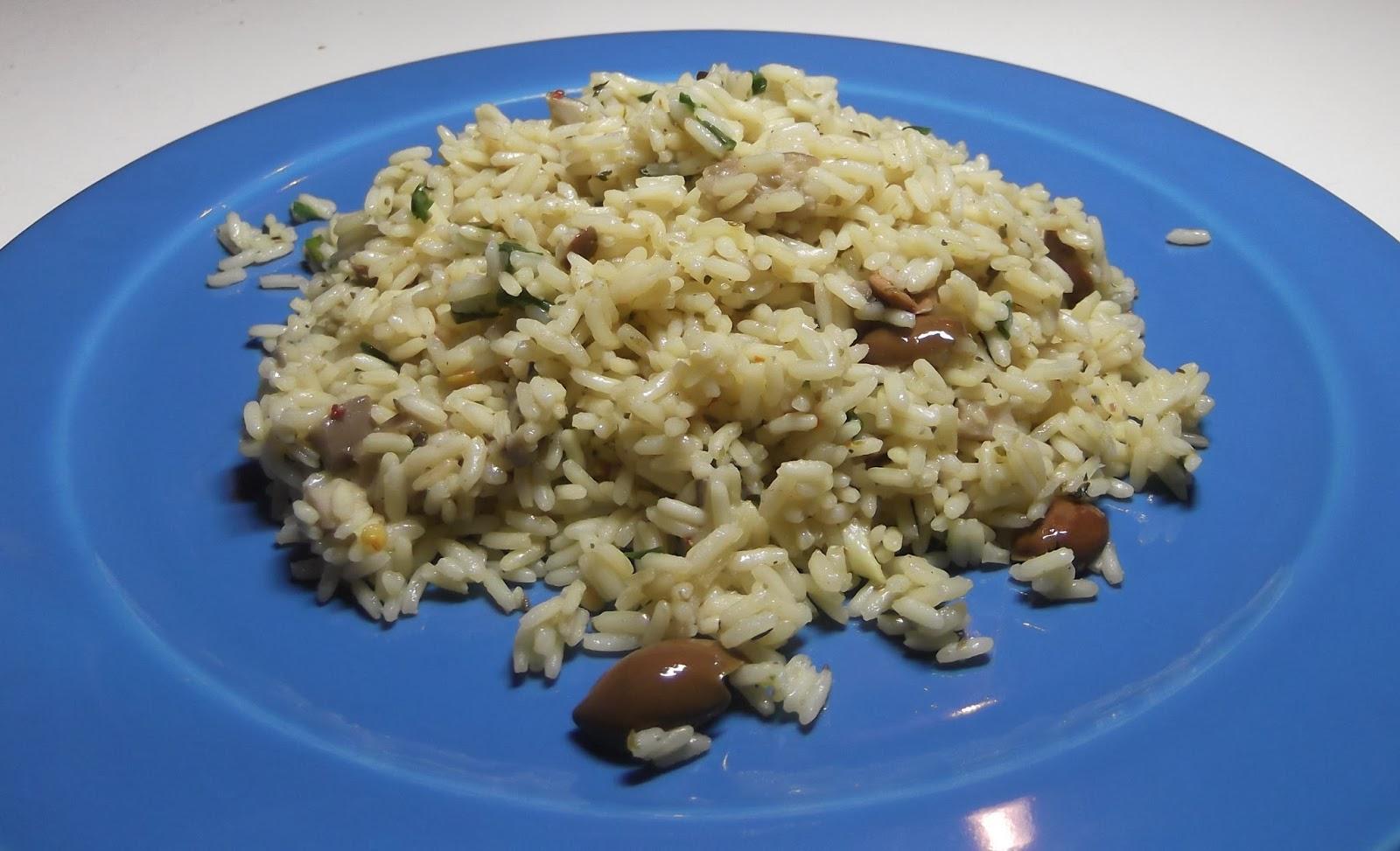 χορτοφαγική συνταγή, ρύζι στο φούρνο