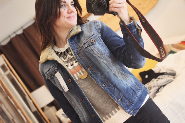 Mavi Adara Sherpa Lined Denim Jacket via @stitchfix bit.ly/YourStitchFix