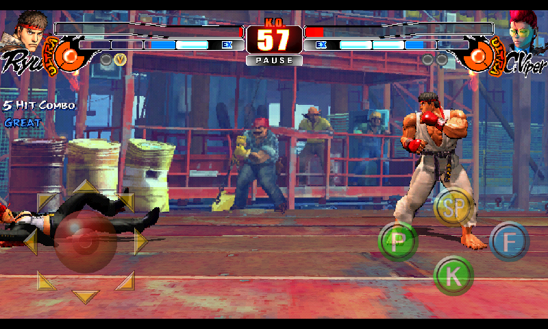 Descargar Street Fighter 4 [apk+SD data] [Android] [ZS-PL-4S] gratis