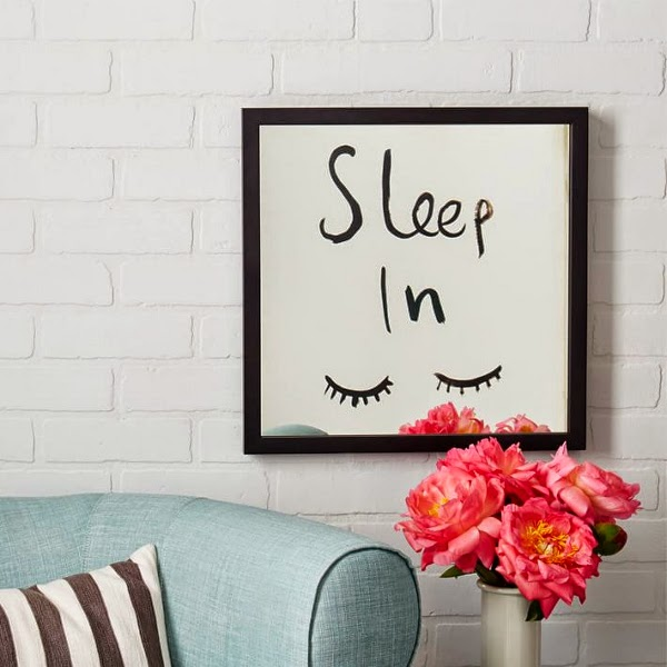 West Elm x Kate Spade Saturday Mirrored Wall Art - Sleep In