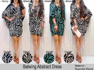 Batwing Dress fit to XL