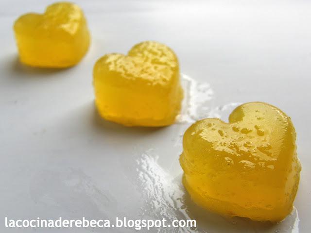 Gominolas de naranja