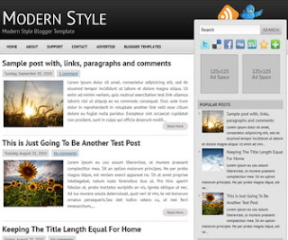 Modern-Style-Blogger-Template