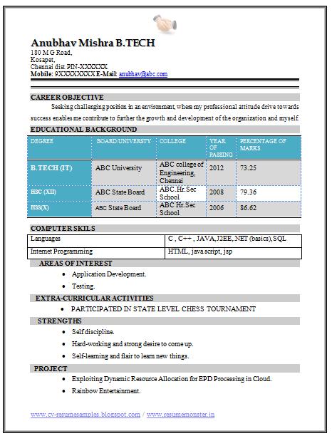 Purdue owl functional resume