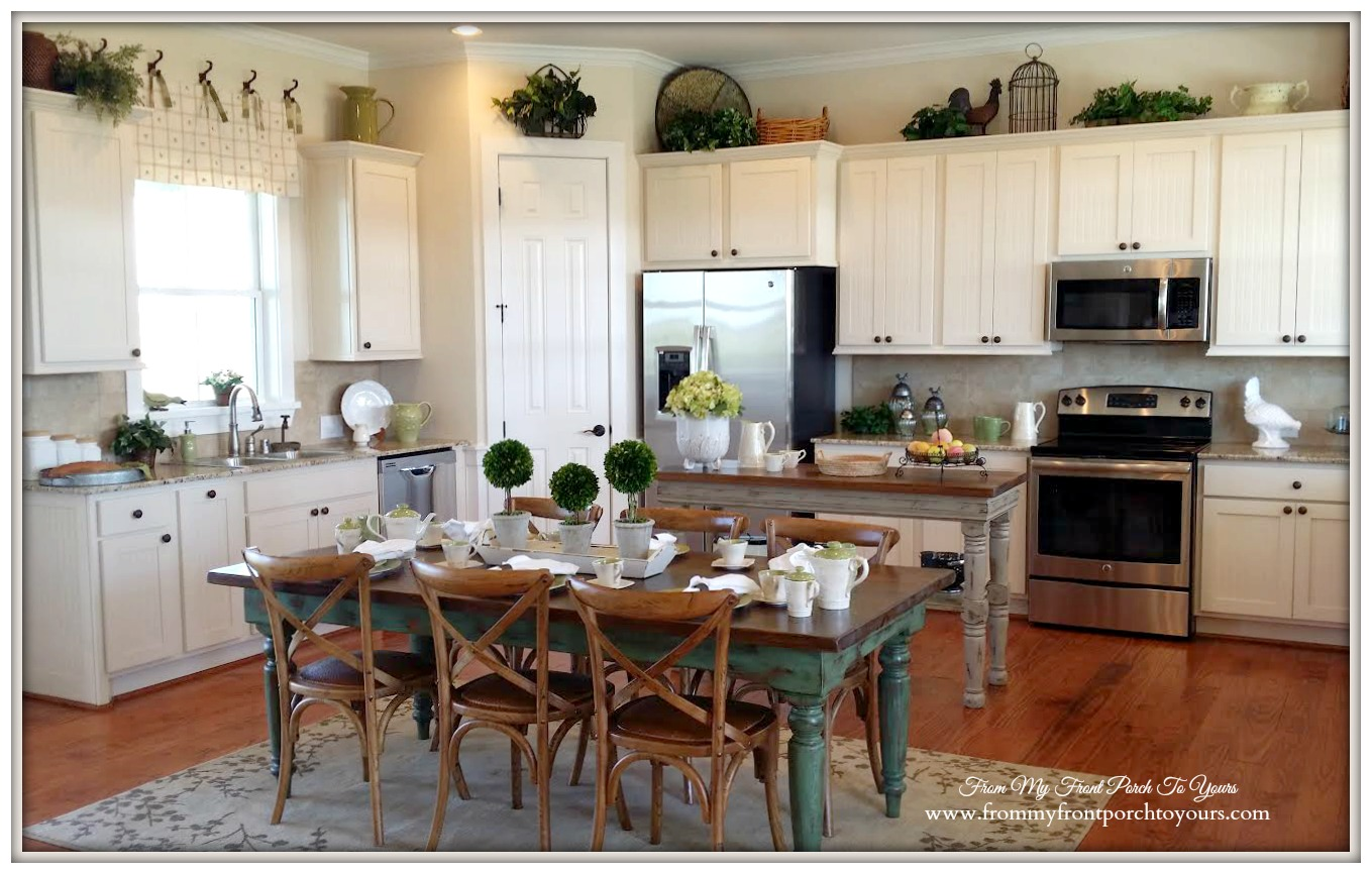 Farmhouse Open kitchen Concept-Farmhouse Model Home-Trendmaker Homes- From My Front Porch To Yours
