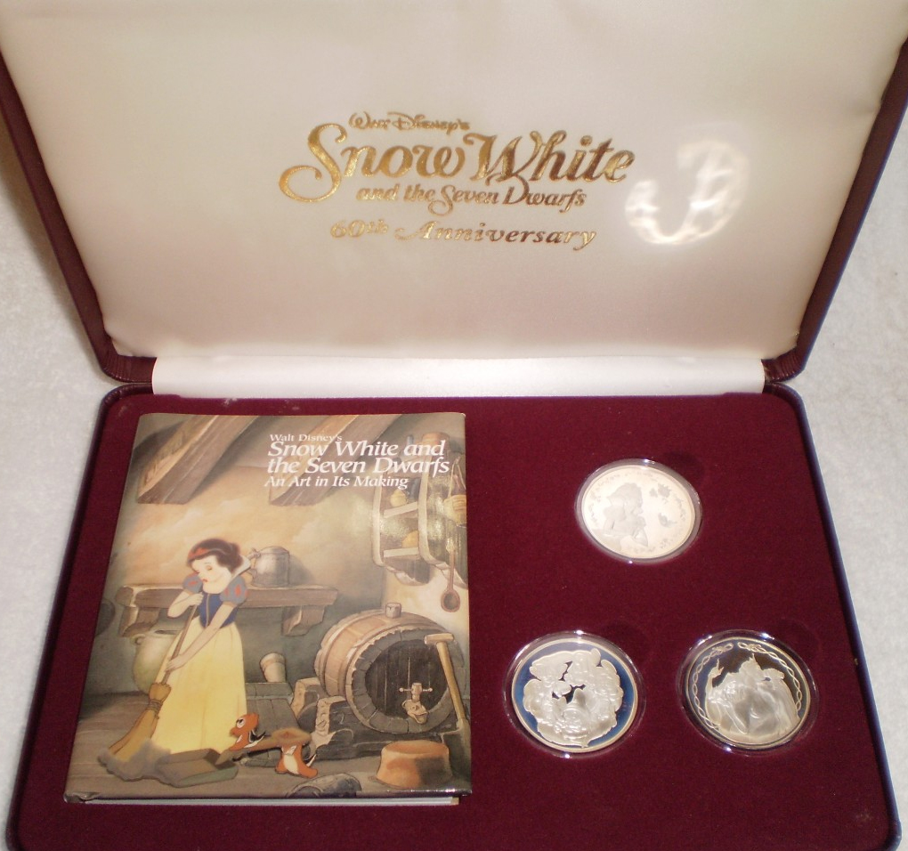 Filmic Light Snow White Archive Commemorative Coins