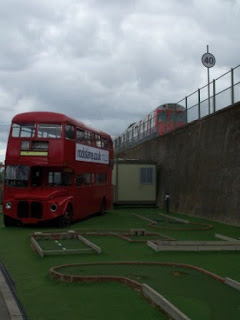 Crazy Golf in Turnham Green, Chiswick, London