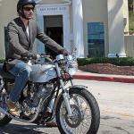 Keanu Reeves  celeb on motorcycles