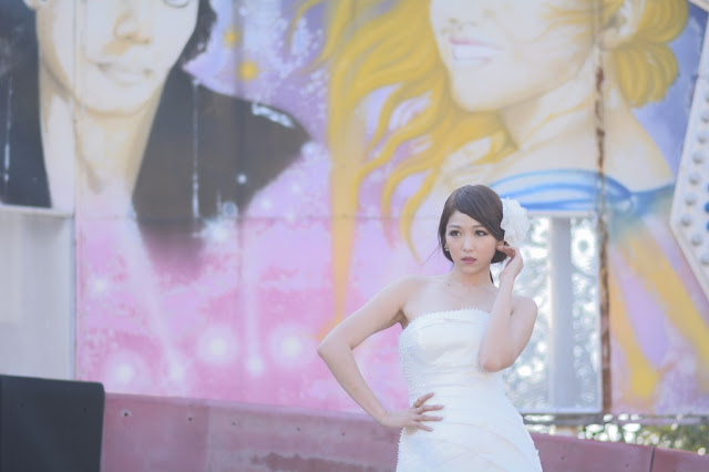 3 Lee Eun Hye in Wedding Dress - very cute asian girl - girlcute4u.blogspot.com