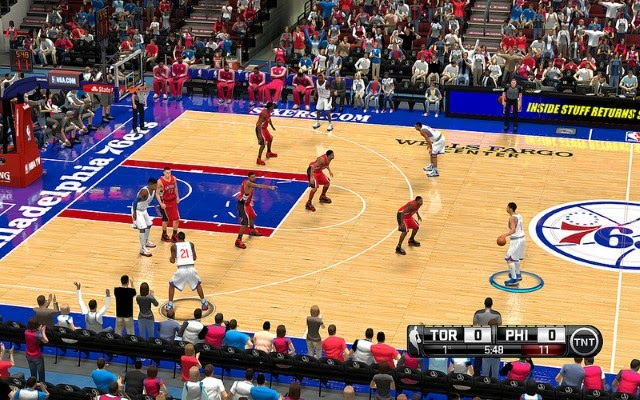 Sixers HD Court | NBA 2K14 PC Mod