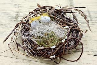 Гнездо своими руками. Автор Carambolka.