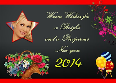 Wish best friends a very happy new year and christmas 2014