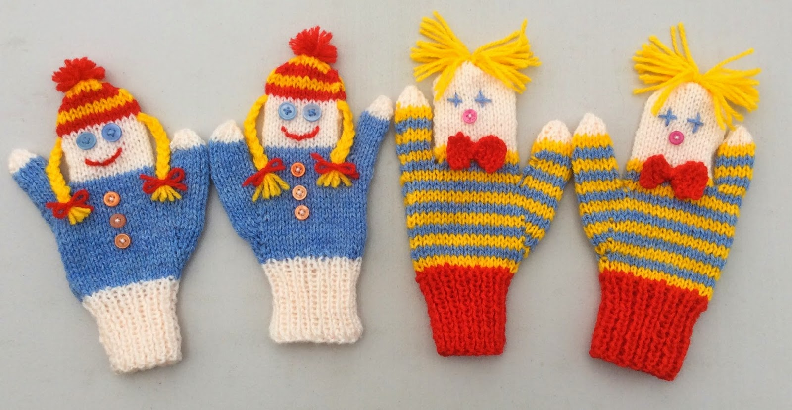 Bitstobuy doll and clown puppet mittens bankloansurffo Image collections