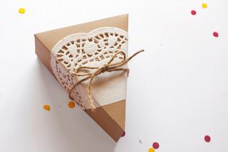 Embalagem individual para bolo passo a passo