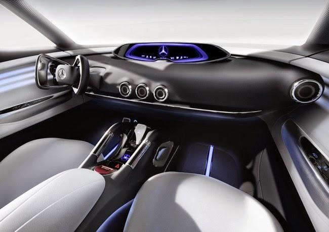 Vision G-Code, mercedes benz luxury cars, interior