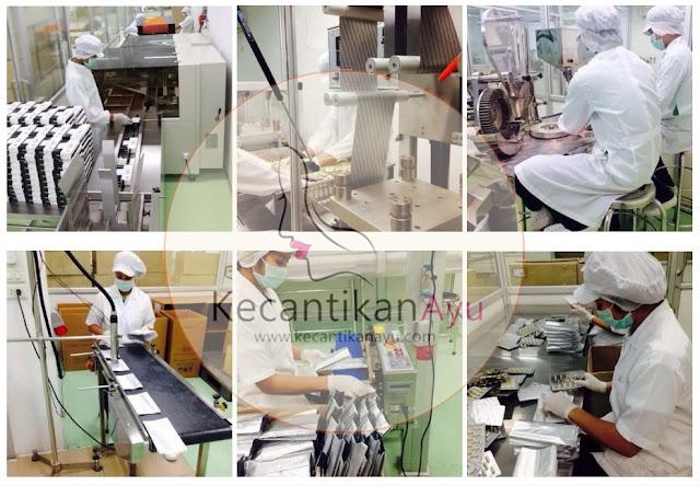 Pabrik Pembuatan Gluta Panacea di Thailand