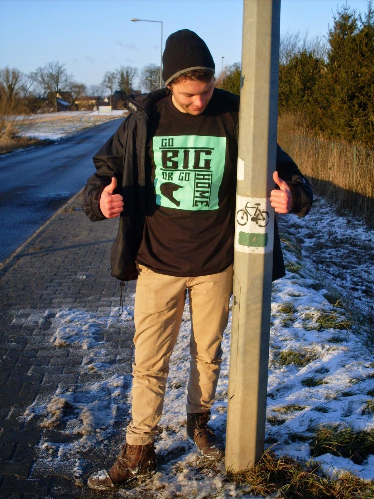 Koszulka Go big or go home