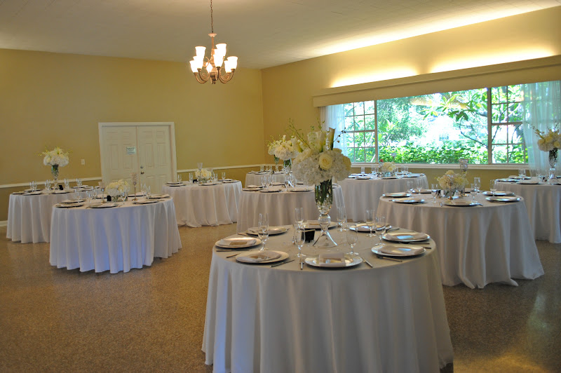 Real Royal Weddings Davis Island Garden Club all white wedding