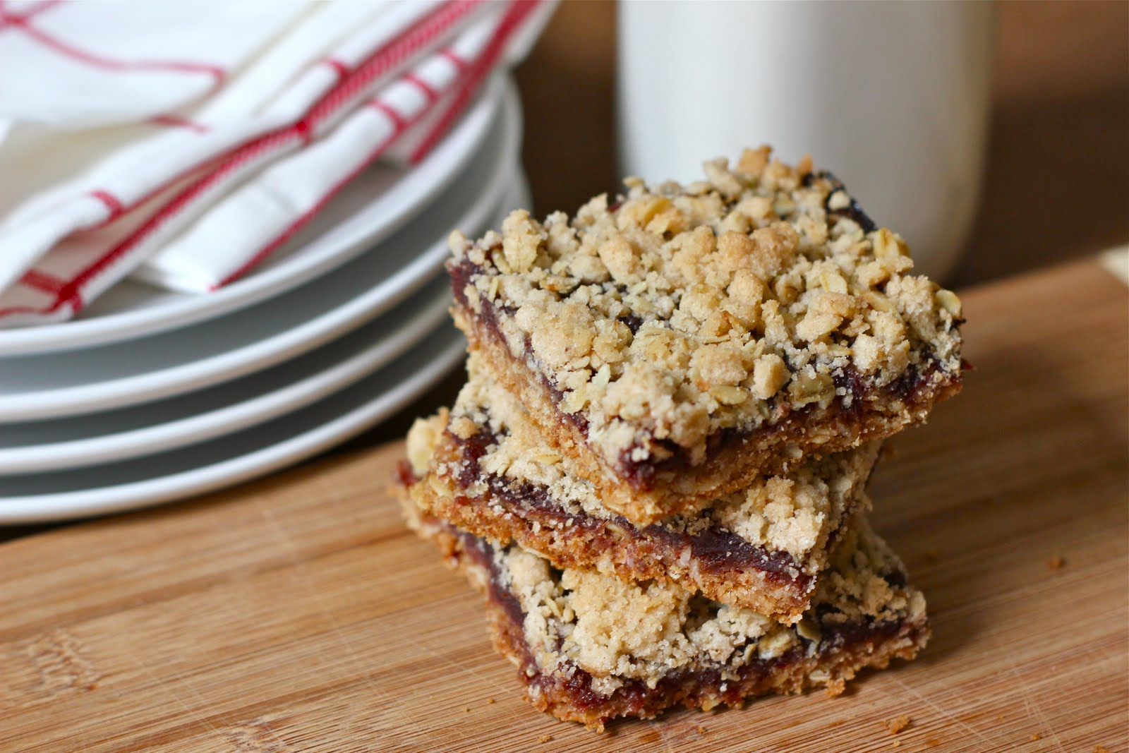 Caren Blair: Maple Oat Date Bars