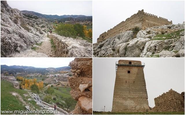 Ruinas-paisajes-Castillo-Taibilla