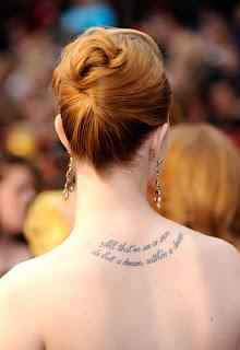 Evan Rachel Wood Tattoo Ideas - Evan Rachel Wood Tattoo Photo Gallery