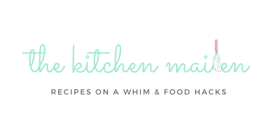 The Kitchen Maiden | Recipes on a Whim & Food Hacks | Made in Cebu