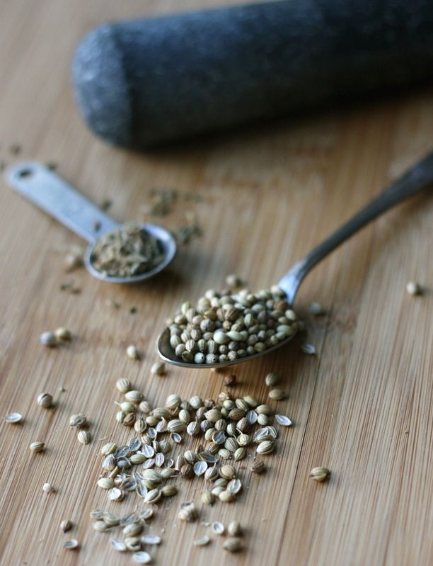 coriander seeds and cumin seeds for chicken wings recipe