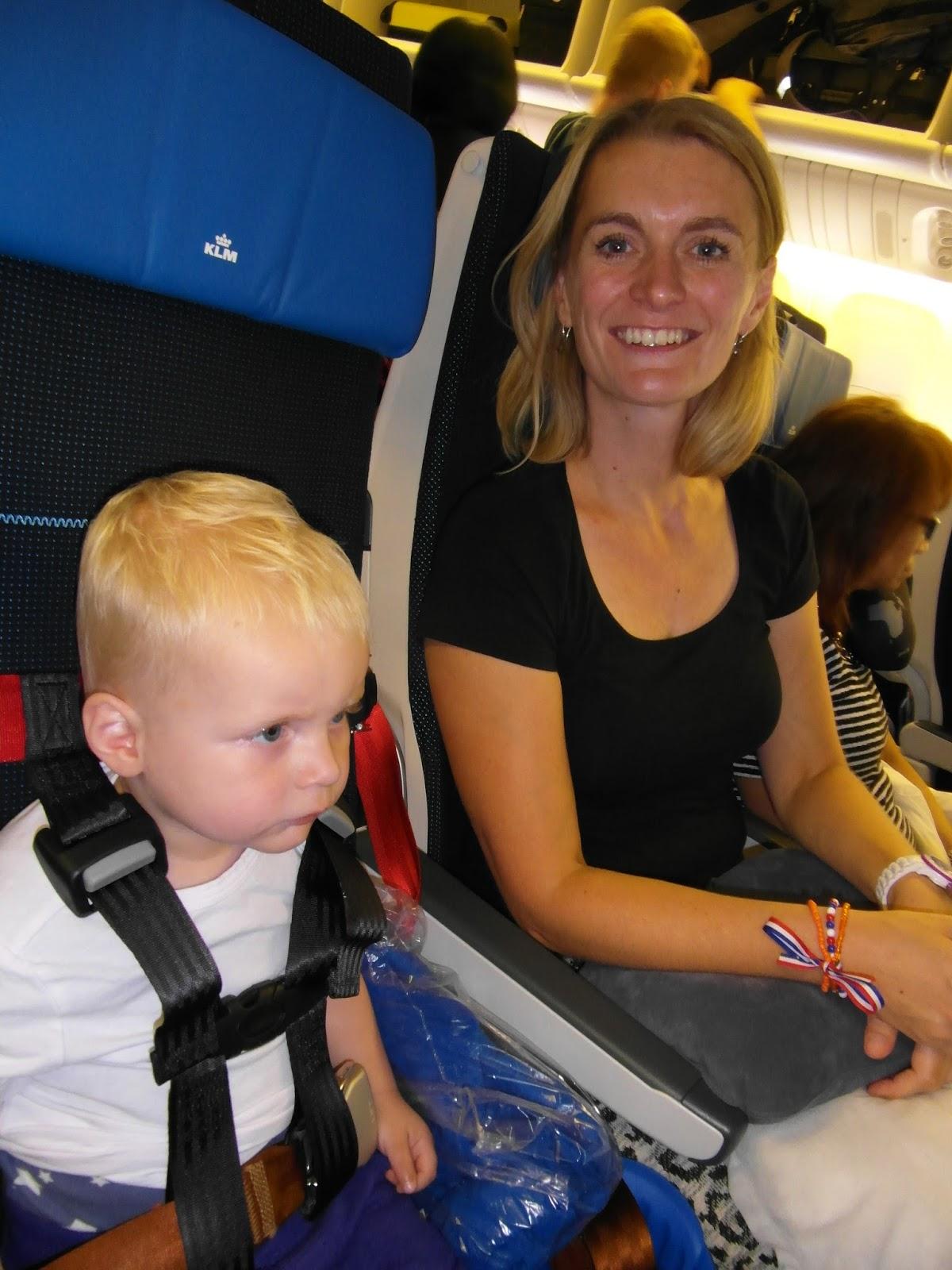 vliegtuig gordel kind