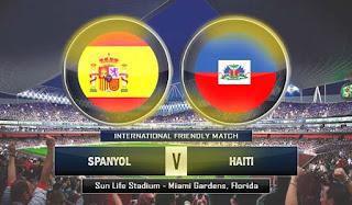 Prediksi Spanyol vs Haiti