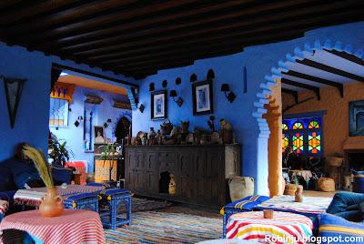 Restaurante hotel en Chefchaouen