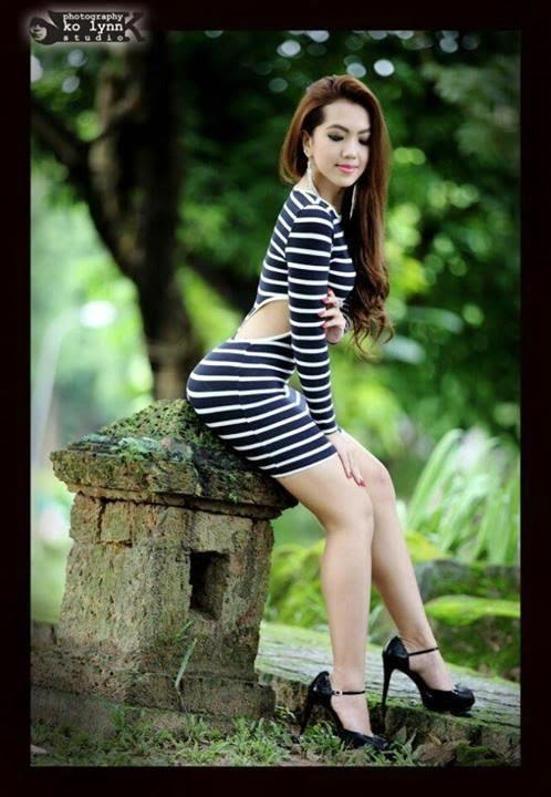 Myanmar Model Waso Mo Oo Stunning Photos Collection