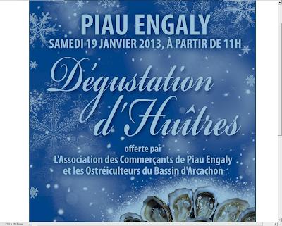 DEGUSTATION GRATUITE D'HUITRES à Piau-Engaly.