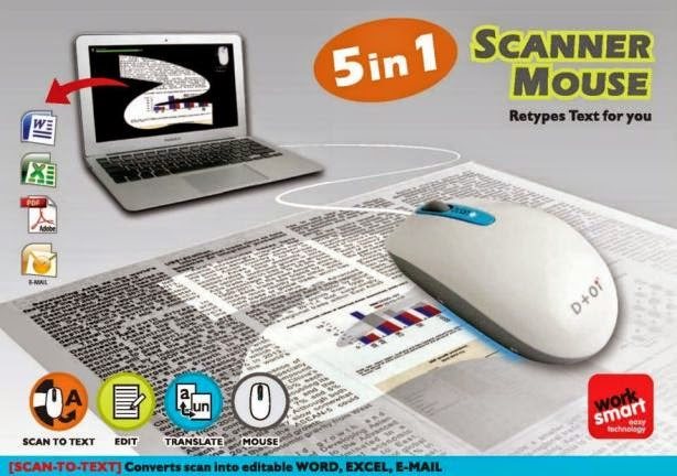 zcan+ scanner mouse