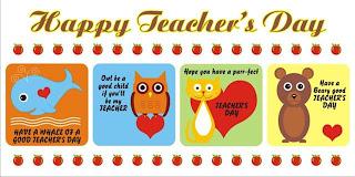 tarjeta en ingles dia del maestro