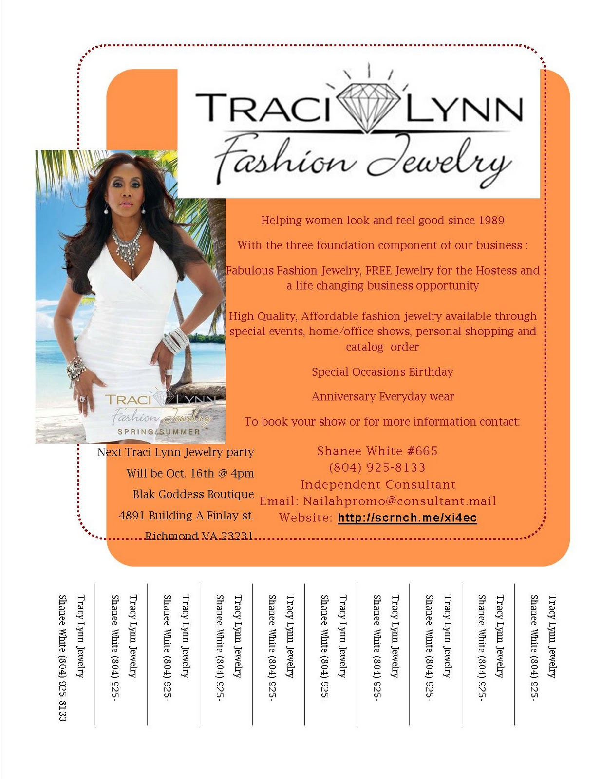 Nailah promotions traci lynn jewelry showcase