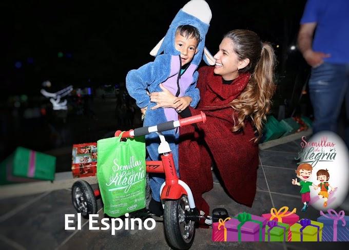 """Niñez de El Espino, El Cocuy y Guacamayas recibió """"Semillas de Alegría"""""""