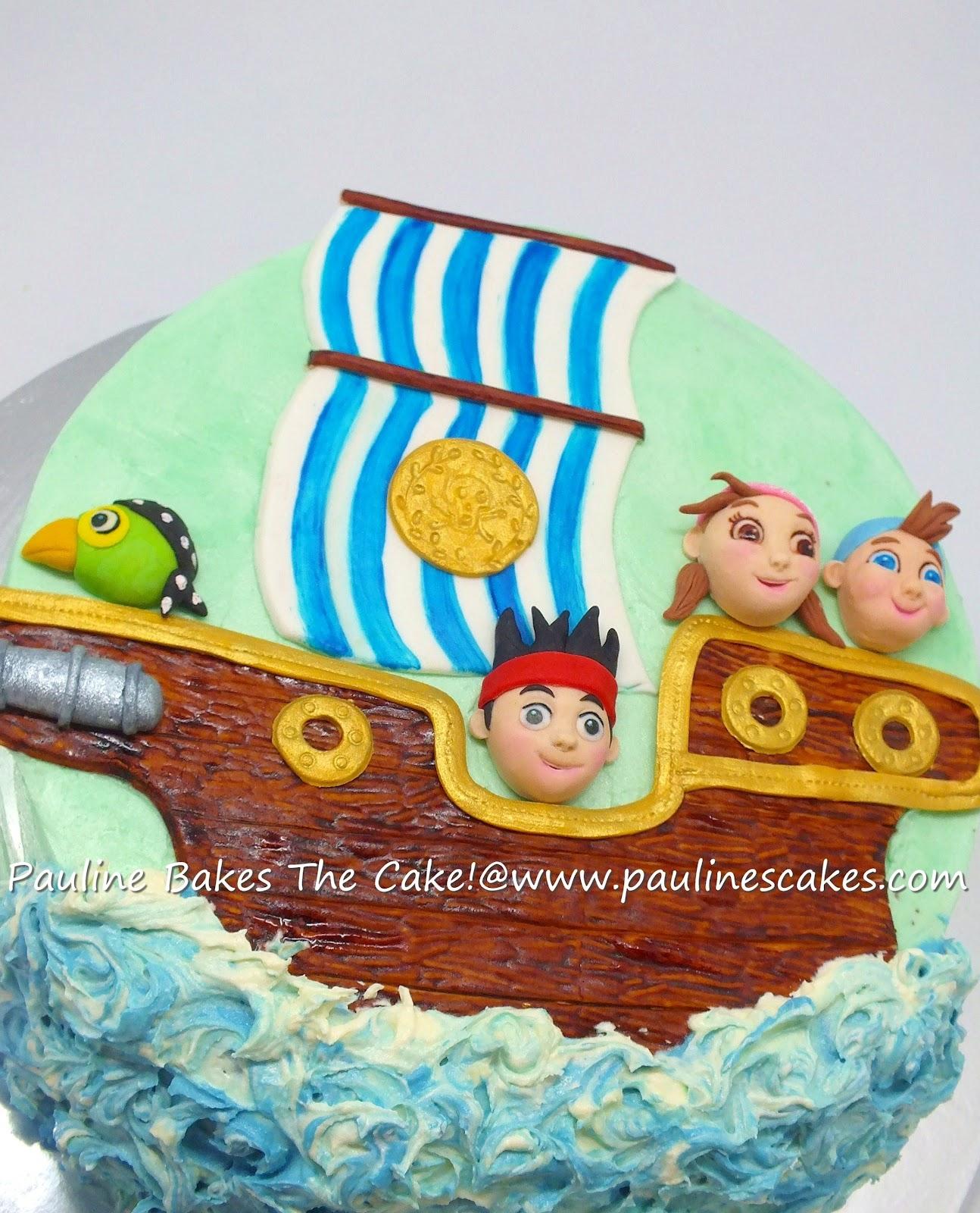 Pauline Bakes The Cake April 2012
