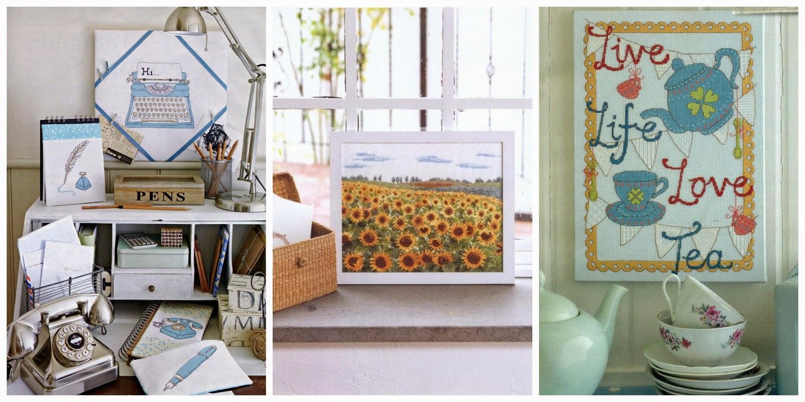 Вышивки в интерьере квартиры фото