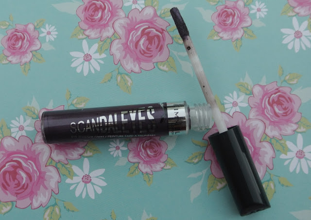 rimmel scandaleyes shadow paint review